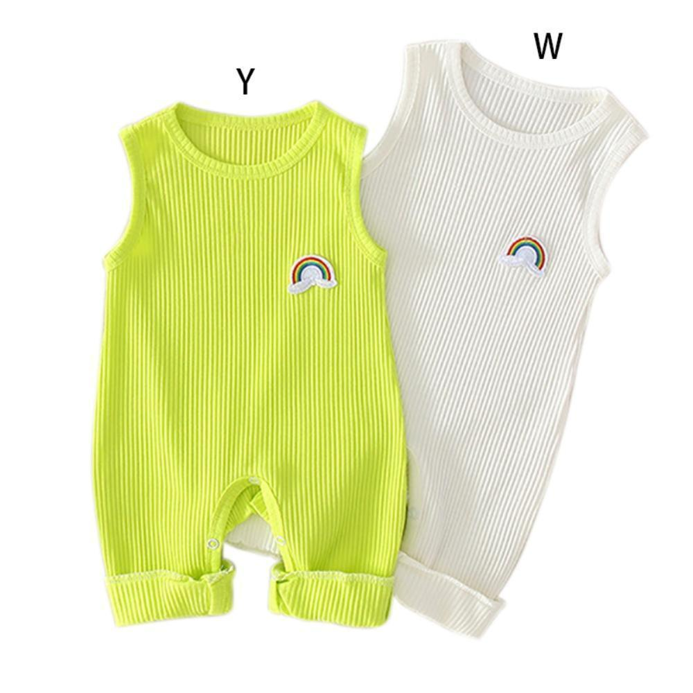 "Baby & Kids Apparel ""Brody"" Sleeveless Jumpsuit/ Romper -The Palm Beach Baby"