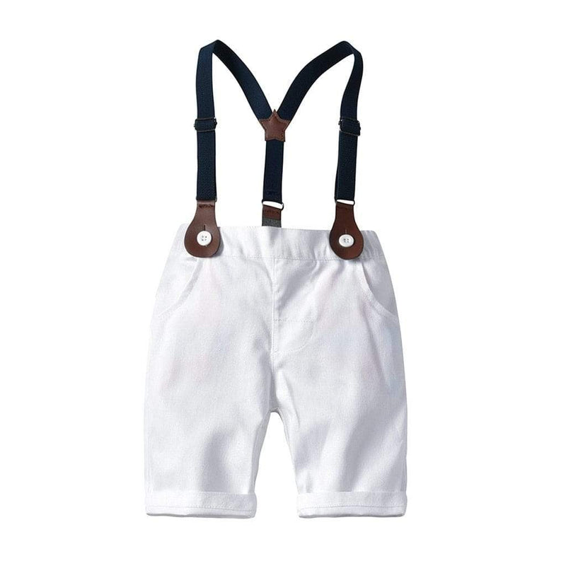 """Bryce"" 2 PC Boys Shorts Set - The Palm Beach Baby"