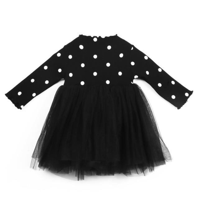 """Amy-Louise"" Polka Dot Tutu Dress - The Palm Beach Baby"