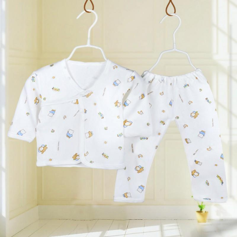Cotton 2 PC Infant Sleep Set (3 Colors) - The Palm Beach Baby