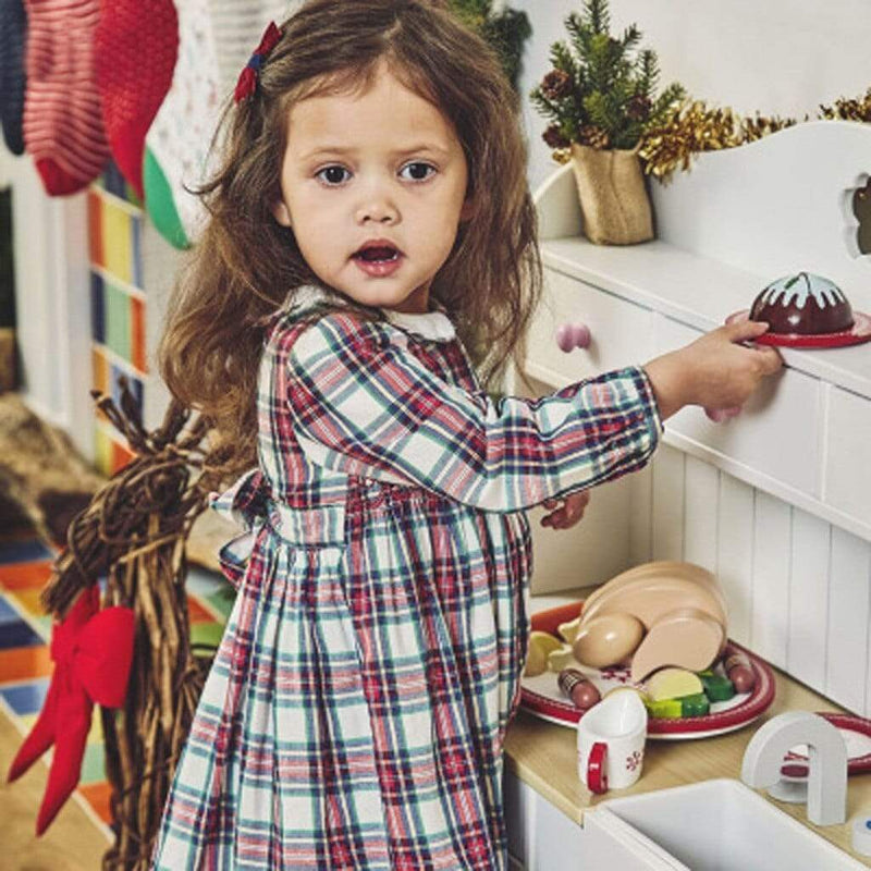 "Cute ""Ainsley"" Plaid Smocked Dress - The Palm Beach Baby"