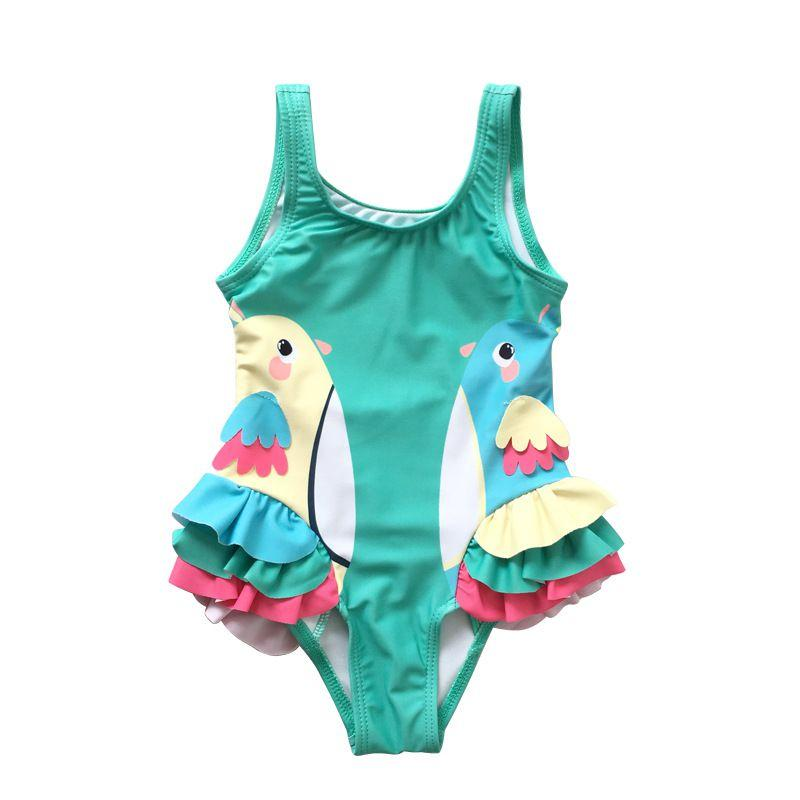 Baby & Kids Apparel Cute Animal-Inspired One Piece Swimsuit -The Palm Beach Baby