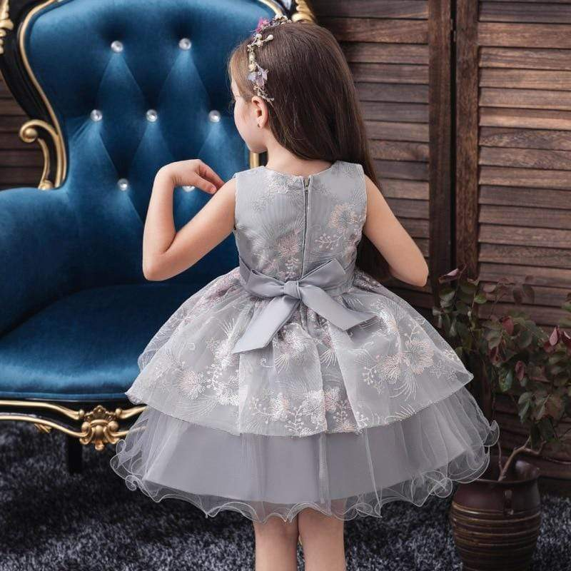 "Baby & Kids Apparel ""Elegant in Lace"" Party Dress -The Palm Beach Baby"