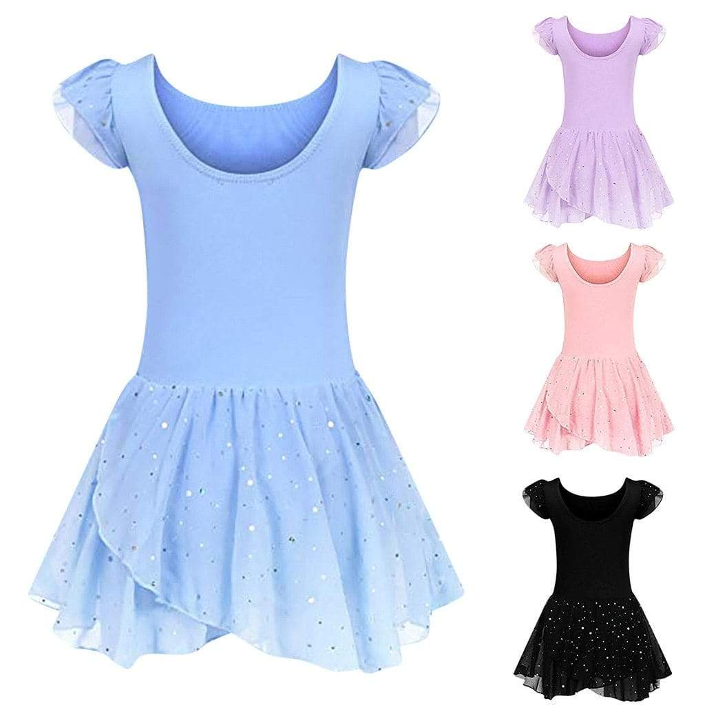 """Emory"" Ballet/Dance Dress (4 Colors) - The Palm Beach Baby"