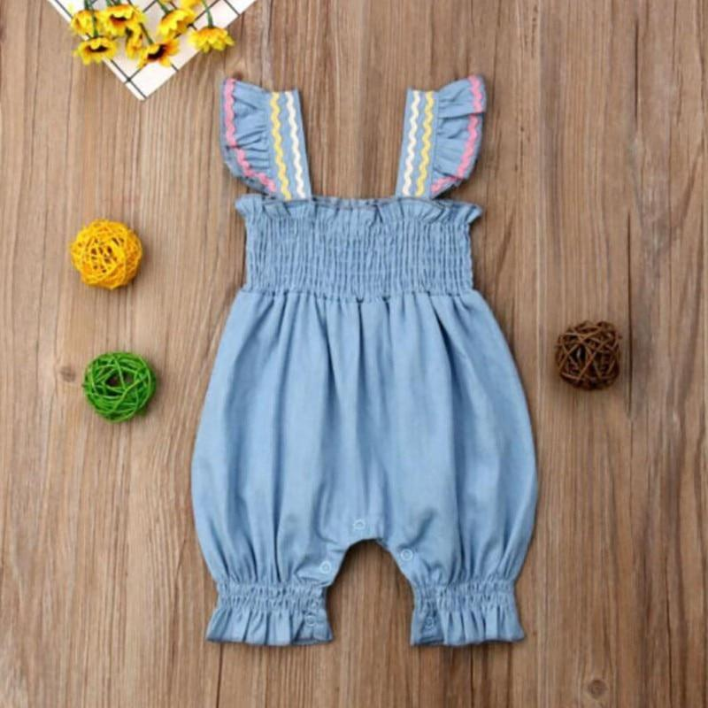 """Lisa-Ann"" Romper Jumpsuit - The Palm Beach Baby"