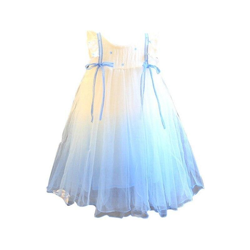 Baby & Kids Apparel Lovely White and Blue Ambre Party Dress -The Palm Beach Baby