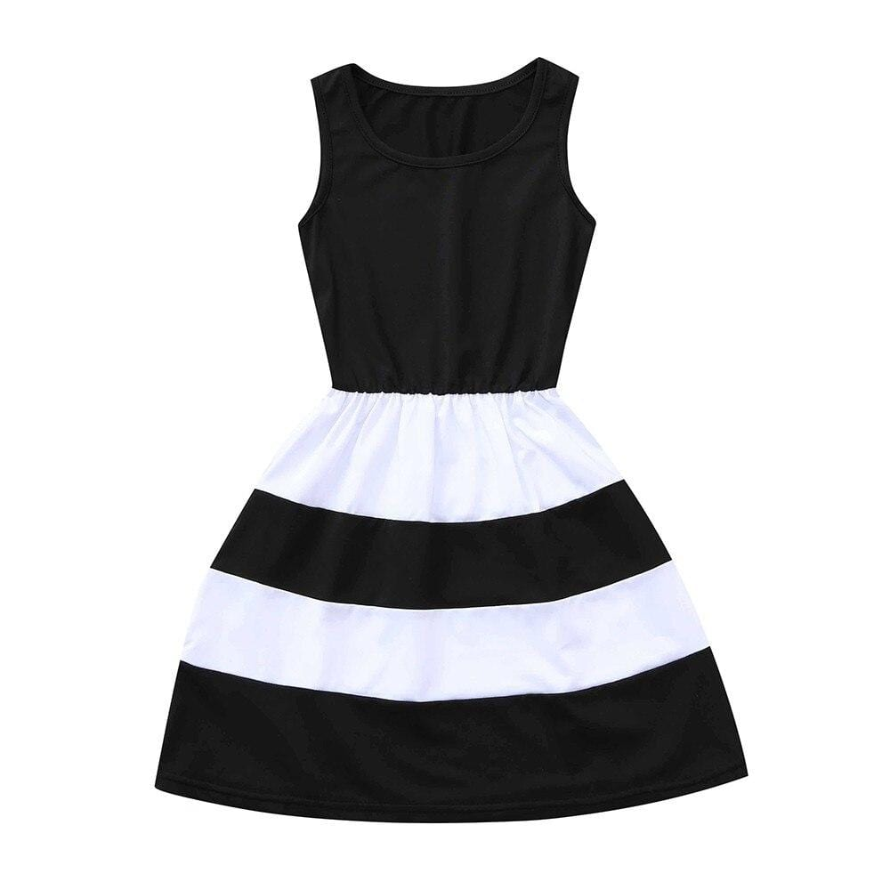 Mother And Daughter Striped Party Dress - The Palm Beach Baby