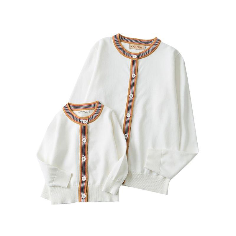 Mother + Daughter Matching Cotton Cardigan - The Palm Beach Baby