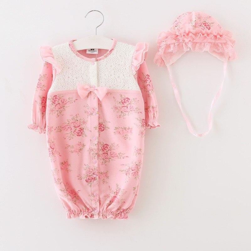 """Rose-Marie"" 2 PC Floral Romper Set - The Palm Beach Baby"