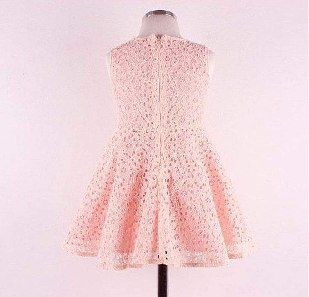 """Pamela"" Flower Lace Dress - The Palm Beach Baby"