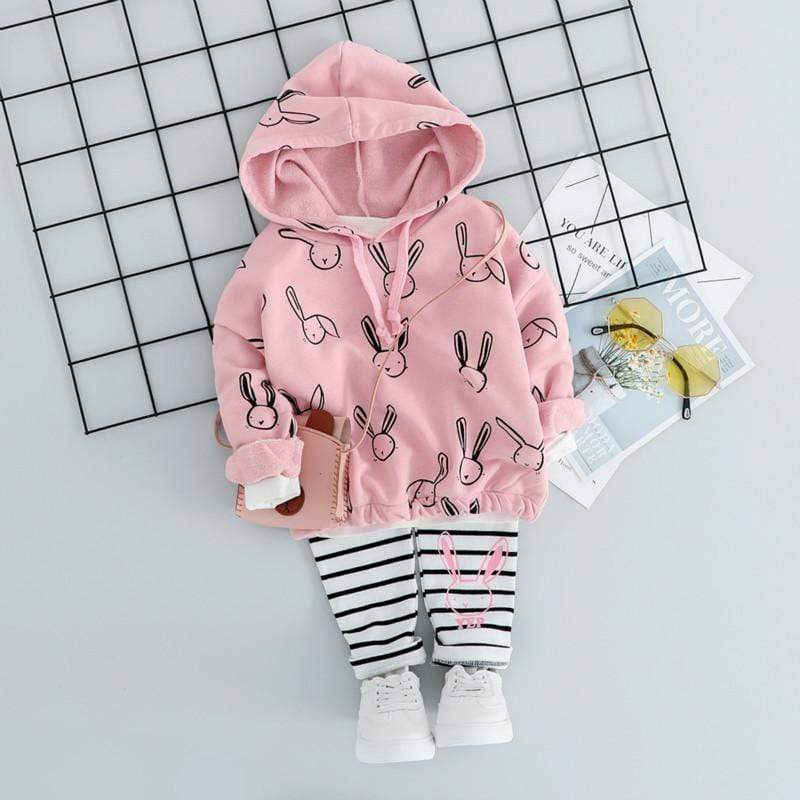Adorable 2 PC Bunny Jacket And Leggings - The Palm Beach Baby