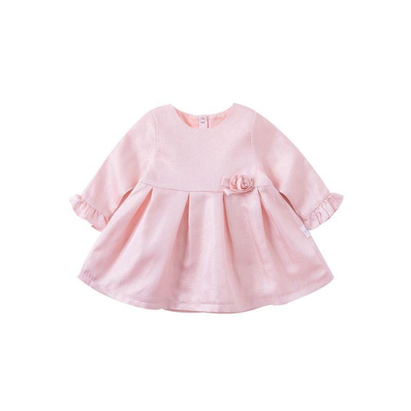 """Pretty In Pink"" Party Dress - The Palm Beach Baby"