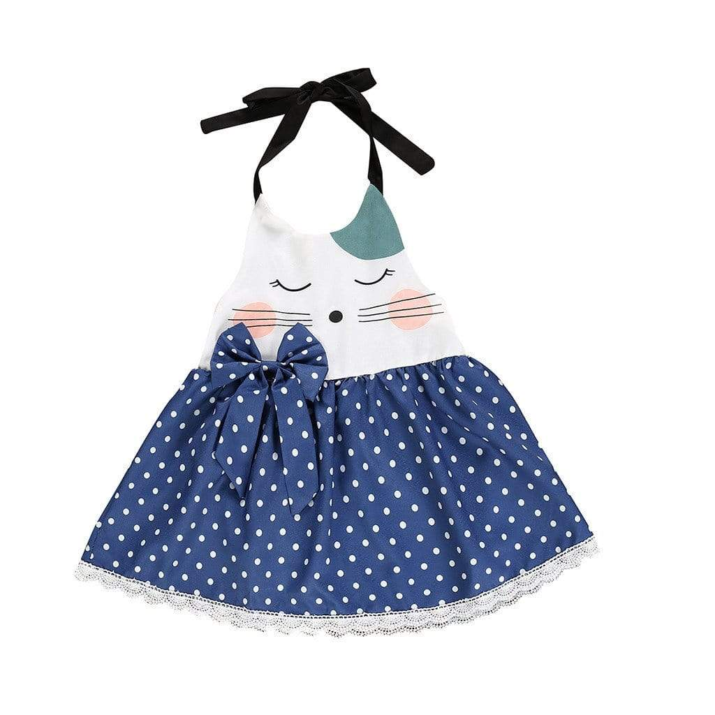 Sweet Animal Themed Casual Dress (2 Styles) - The Palm Beach Baby