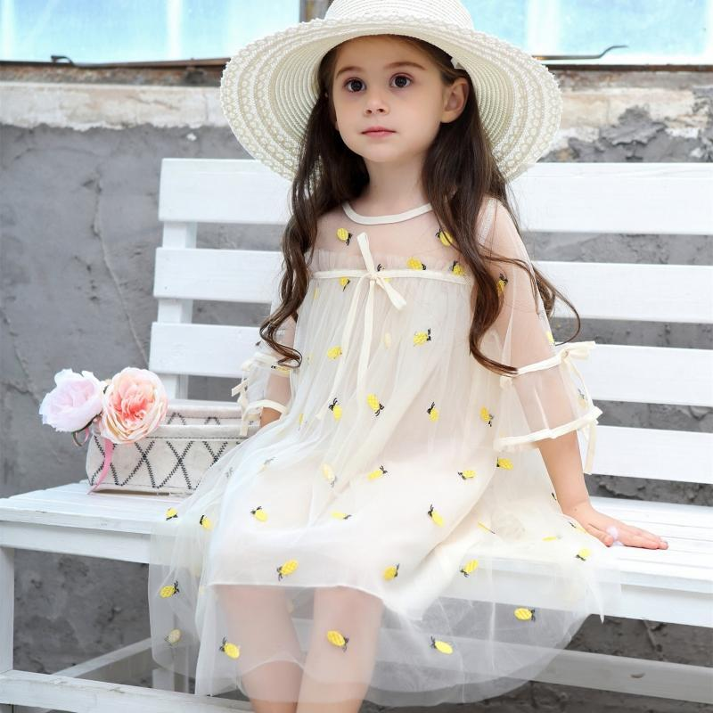 "Baby & Kids Apparel The ""Carolina"" Tulle Overlay Party Dress -The Palm Beach Baby"