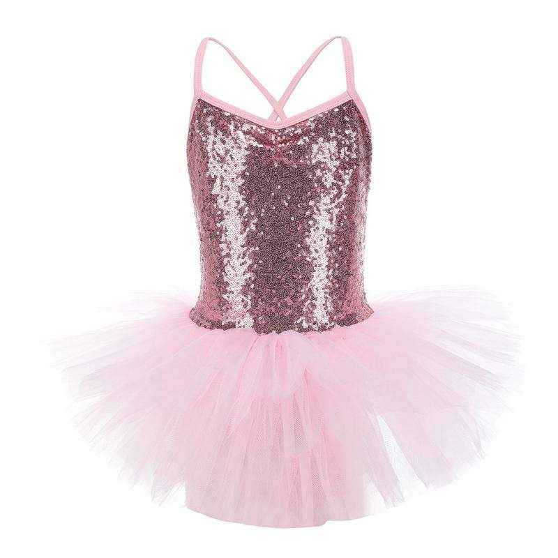 "The ""Mika"" Sequined Ballerina Dress - The Palm Beach Baby"