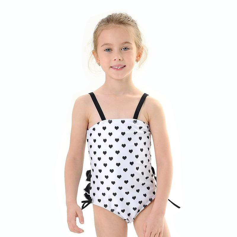 "Baby & Kids Apparel The ""Sueanne"" One-Piece Bathing Suit & Hat -The Palm Beach Baby"