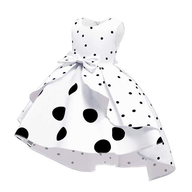 Elegant Polka Dot Tiered Party Dress - The Palm Beach Baby