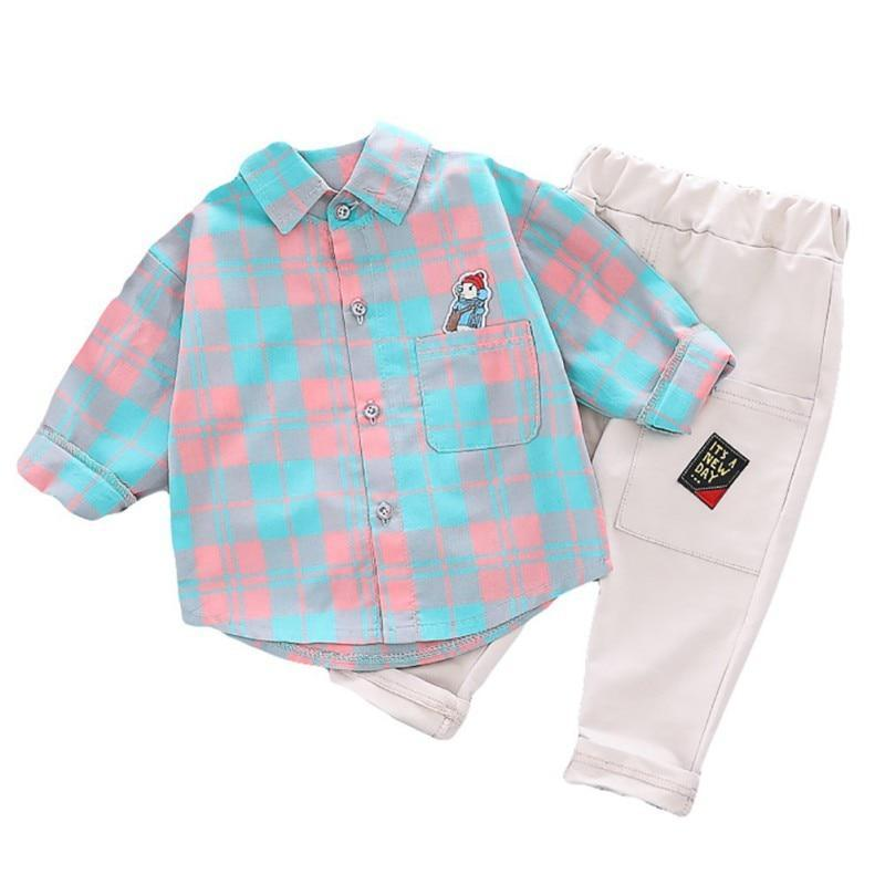 "The ""Donaldson"" 2 Pc Pants Set - The Palm Beach Baby"