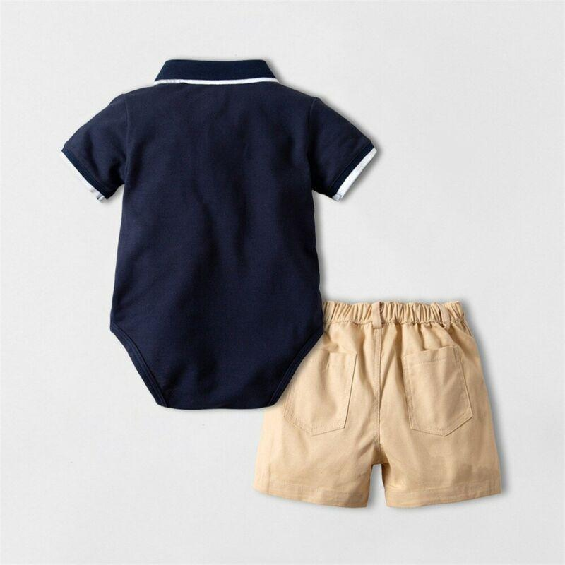 "The ""James"" 2 PC Shorts Set - The Palm Beach Baby"