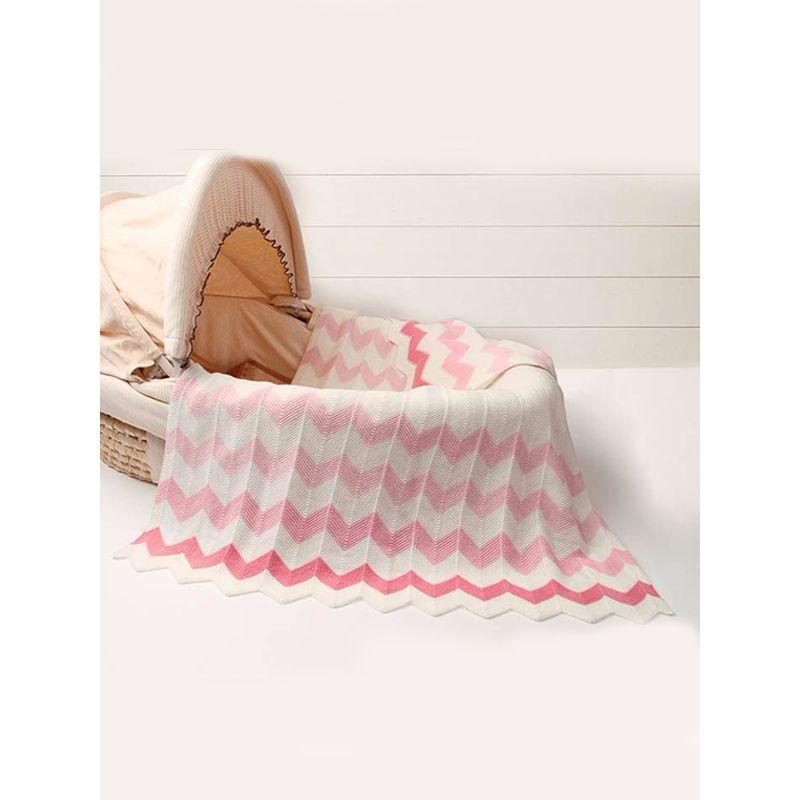 Chevron Baby/Toddler Blanket (2 Colors) - The Palm Beach Baby