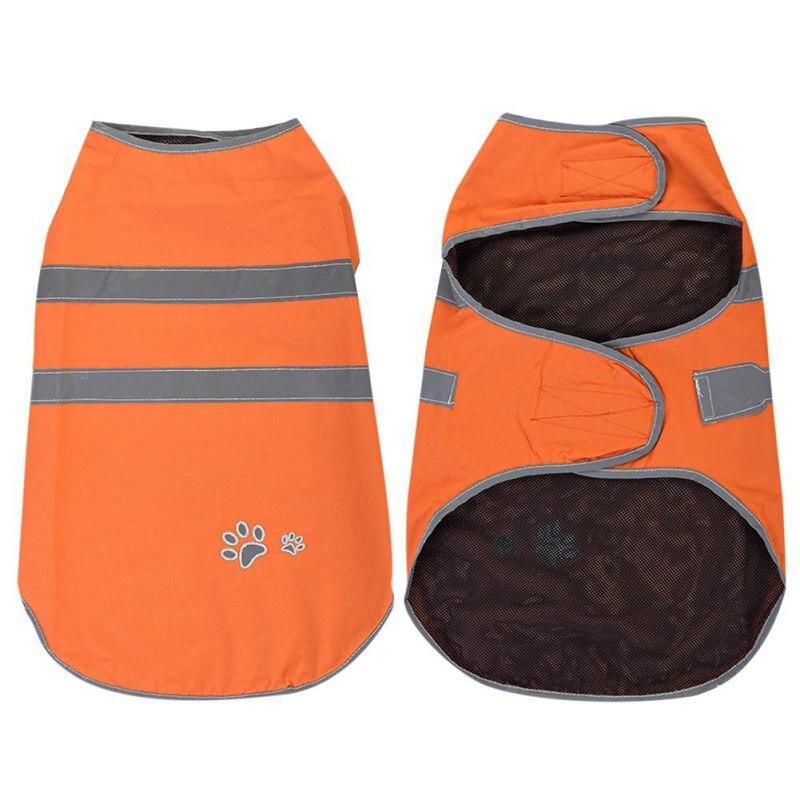 Waterproof Dogs Orange Rain Coat - XS-XXXL - The Palm Beach Baby