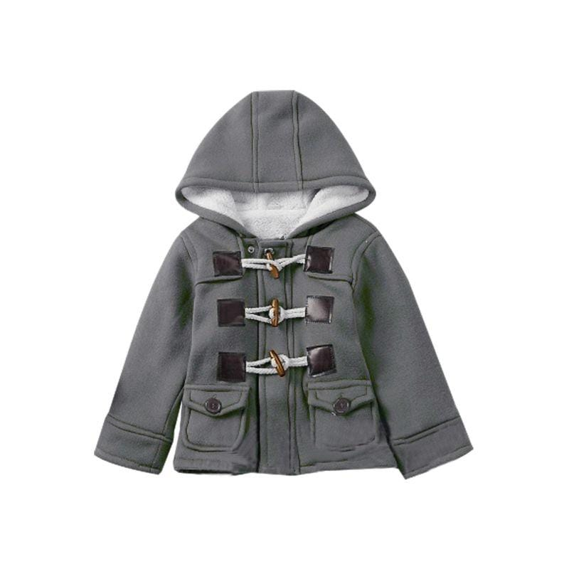 Boys Winter Fleece-lined Hooded Coat - The Palm Beach Baby