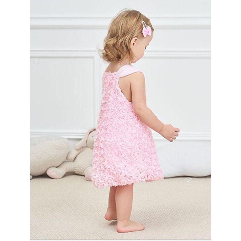 Rose Tulle Confection Party Dress - The Palm Beach Baby