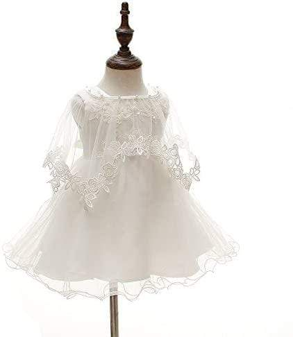 """Anna-Maria"" Lace Dress, Bonnet, & Cape - The Palm Beach Baby"