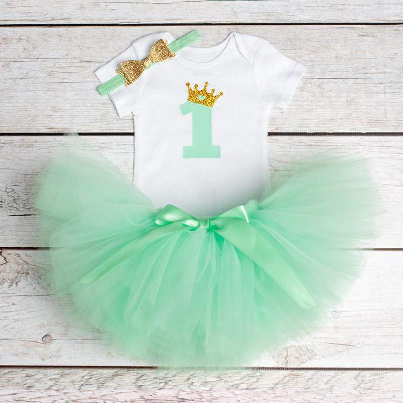 First Birthday Tutu Set (20 Designs) - The Palm Beach Baby