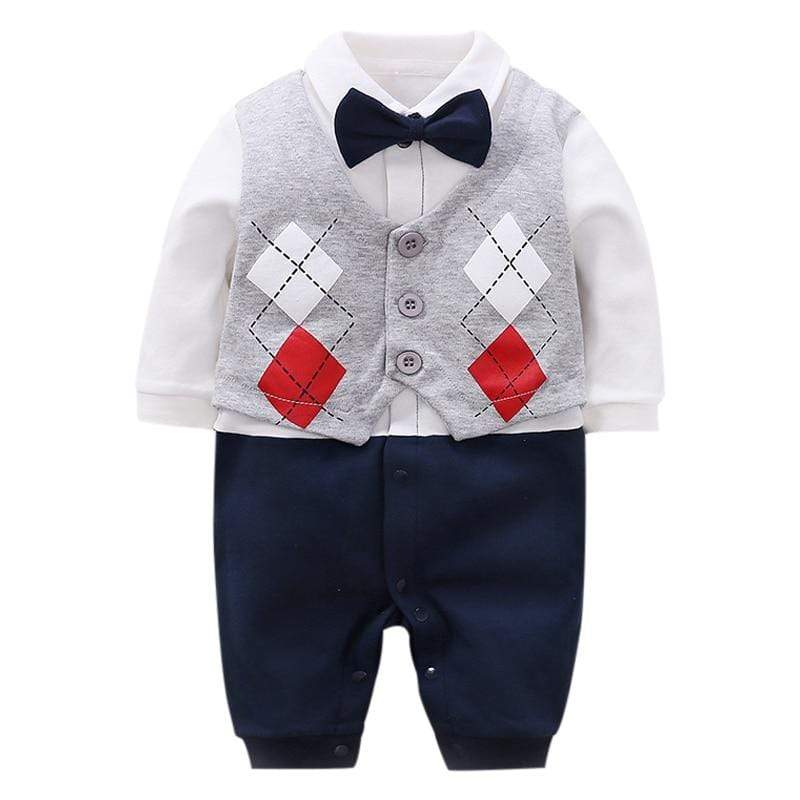 Gentlemen's Style Argyle 1 PC Suit - The Palm Beach Baby