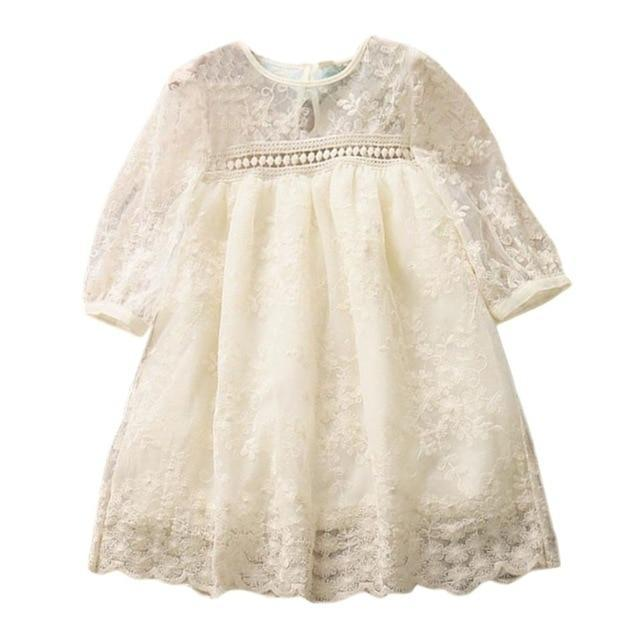 "Baby & Kids Apparel A / 18M / United States ""Gwendolyn"" Vintage Lace Boho Dress -The Palm Beach Baby"