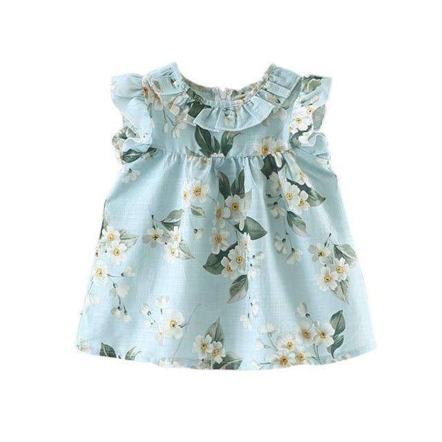"The ""Madeline"" Casual Floral Dress - The Palm Beach Baby"