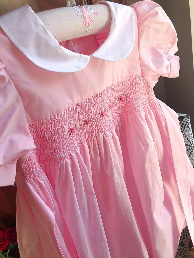 """Lilliana"" Elegant Smocked Dress - The Palm Beach Baby"