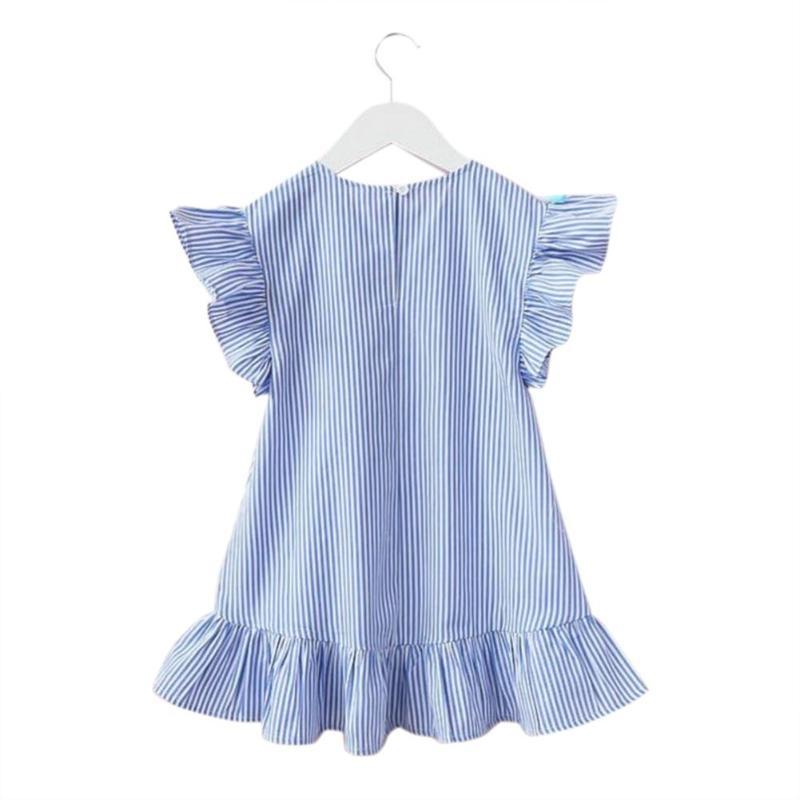 """Poppy"" Striped Party Dress - The Palm Beach Baby"