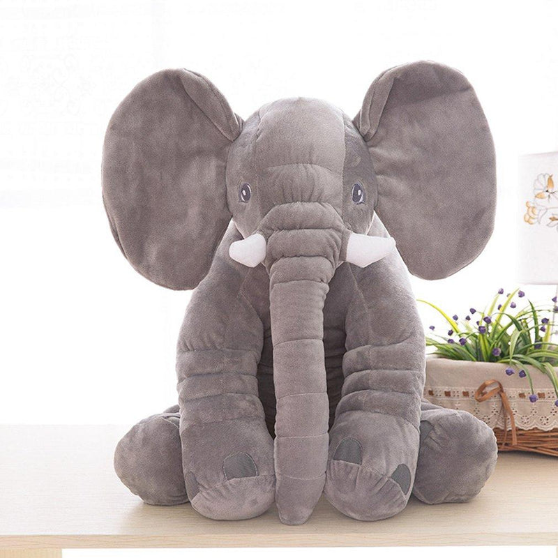"""Elly Elephant"" Plush Stuffed Toy - The Palm Beach Baby"