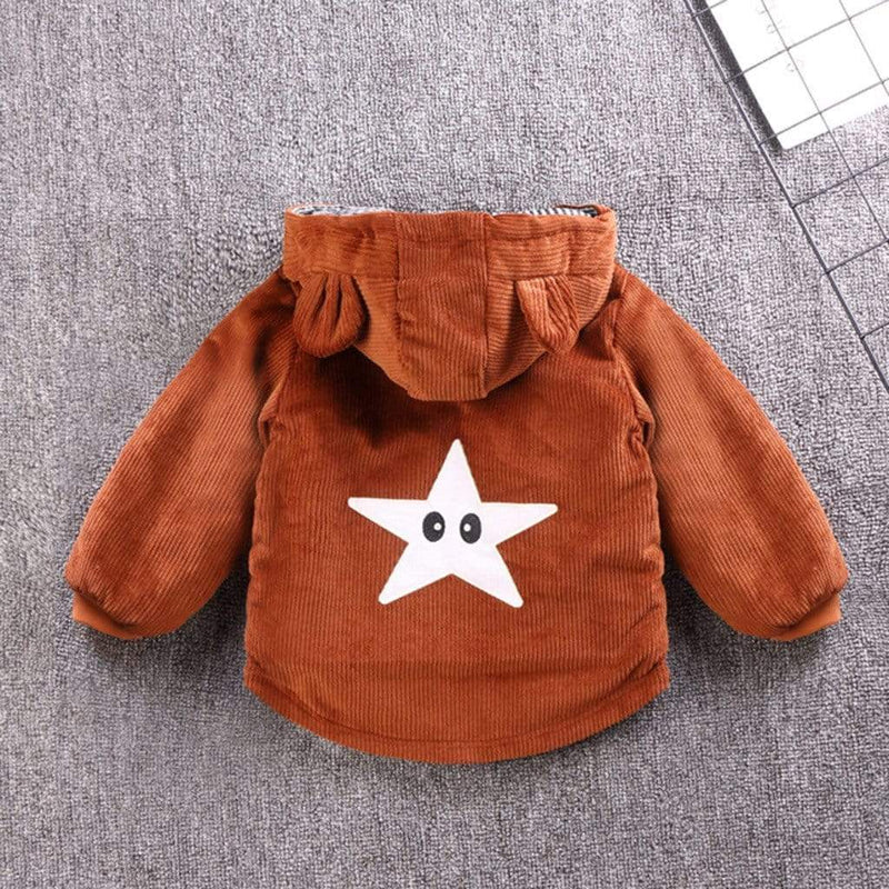 Toddlers Lined Hooded  Coat - The Palm Beach Baby