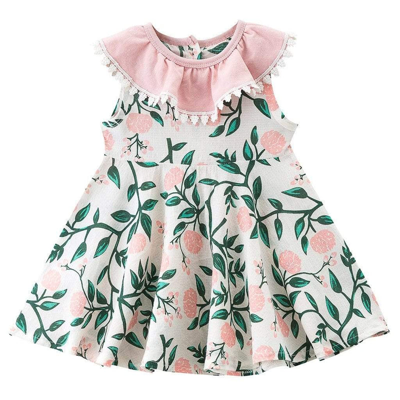 """Kimberly"" Floral Party Dress - The Palm Beach Baby"