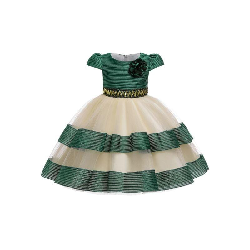 "Elegant ""Aislinn"" Sequined Party Frock - The Palm Beach Baby"