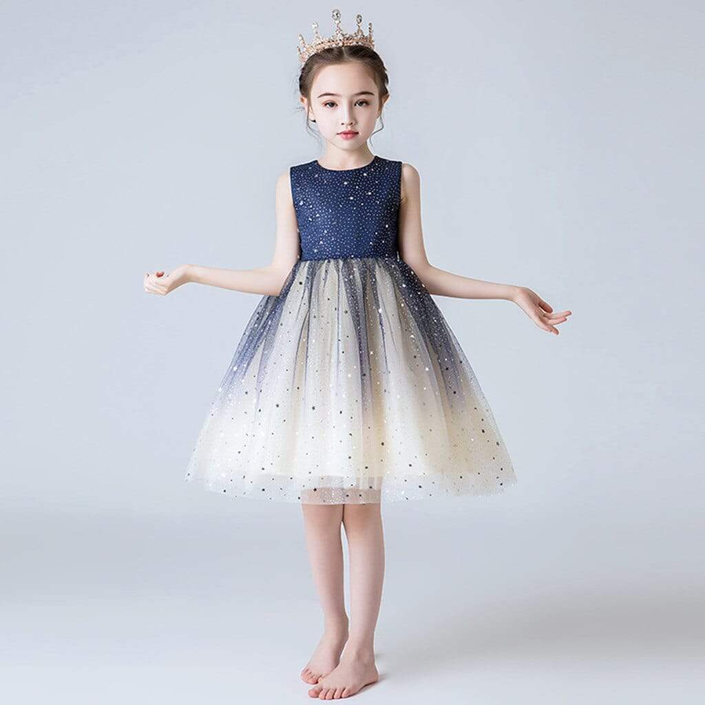"""Andrea"" Ombre Tulle Dress - The Palm Beach Baby"
