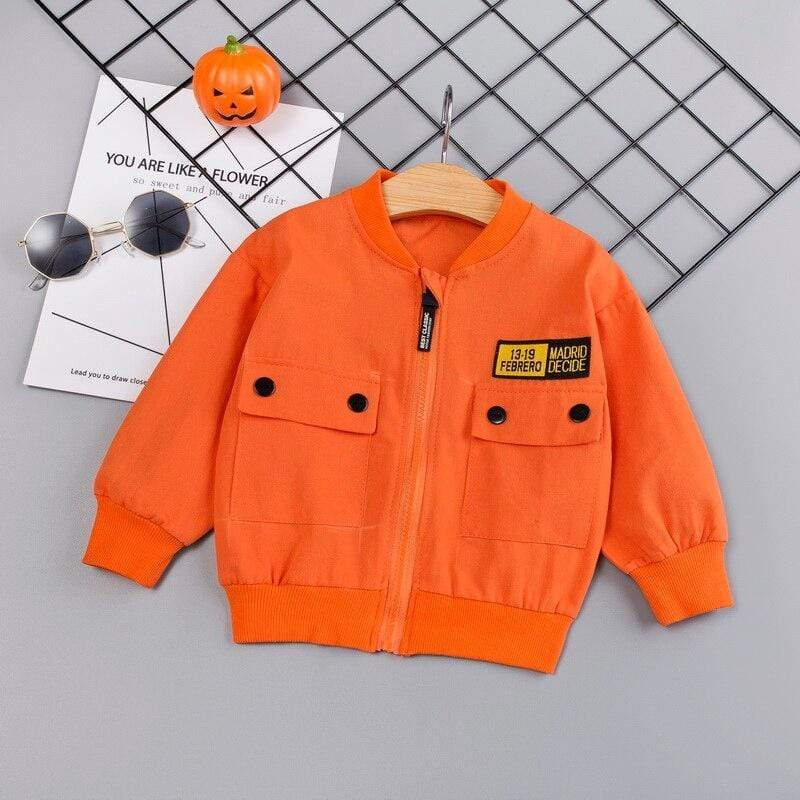 Autumn Boys Casual Jacket - The Palm Beach Baby