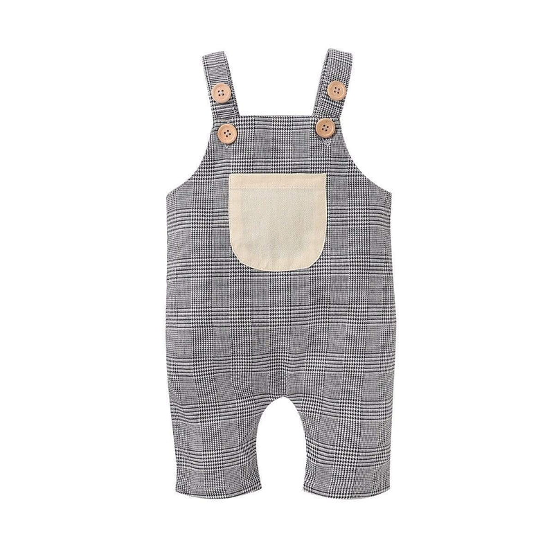 """Mason"" Fall Overalls Jumpsuit - The Palm Beach Baby"