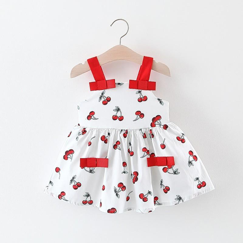 """Cherry Cute"" Sun Dress - The Palm Beach Baby"