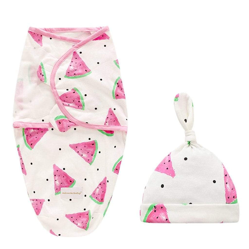 Baby & Kids Accessories Fun-Print Swaddle Sleepsack With Cap -The Palm Beach Baby