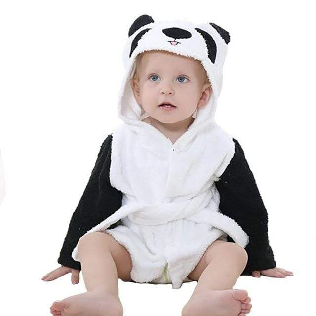 Fun Ultra-Soft Animal-Themed Bathrobe (4 Styles) - The Palm Beach Baby