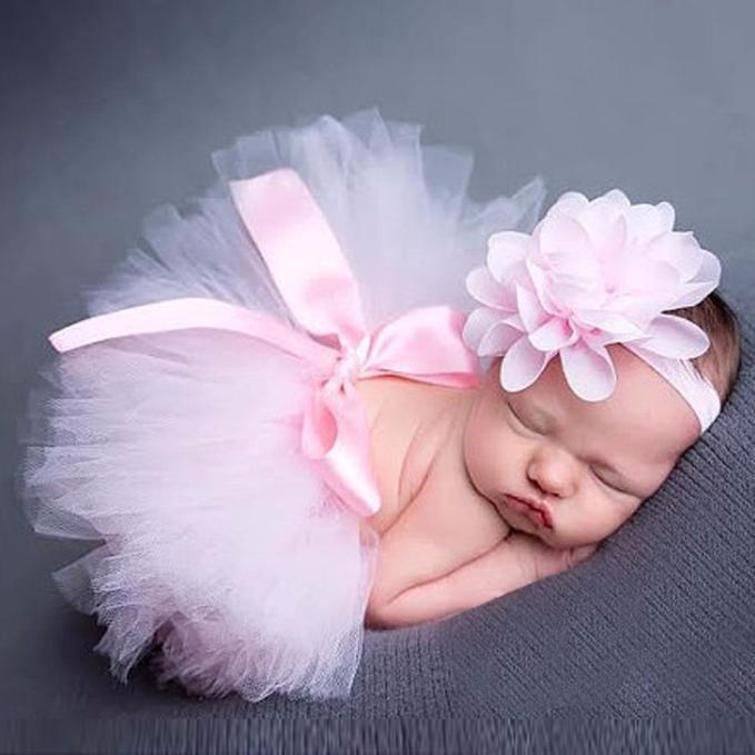 Adorable Infants 2 PC Pink Tutu Set - the-palm-beach-baby.myshopify.com