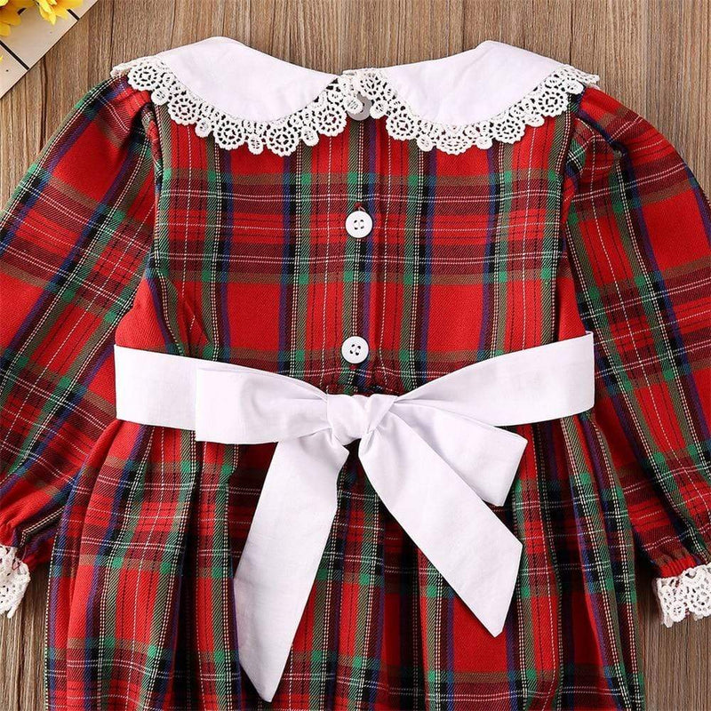Adorable Plaid Matching Dress Or Romper - The Palm Beach Baby