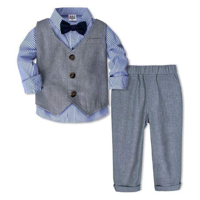 """Matthew"" 3 PC Suit For Little Boys - The Palm Beach Baby"