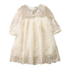 "Baby & Kids Apparel ""Gwendolyn"" Vintage Lace Boho Dress -The Palm Beach Baby"