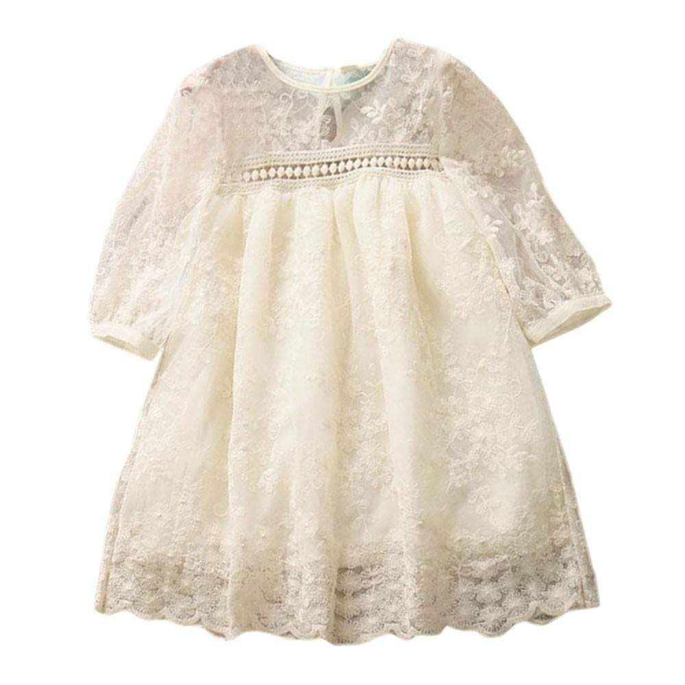 """Gwendolyn"" Vintage Lace Boho Dress - The Palm Beach Baby"
