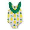 """Pineapple Baby"" One Piece Swimsuit - The Palm Beach Baby"